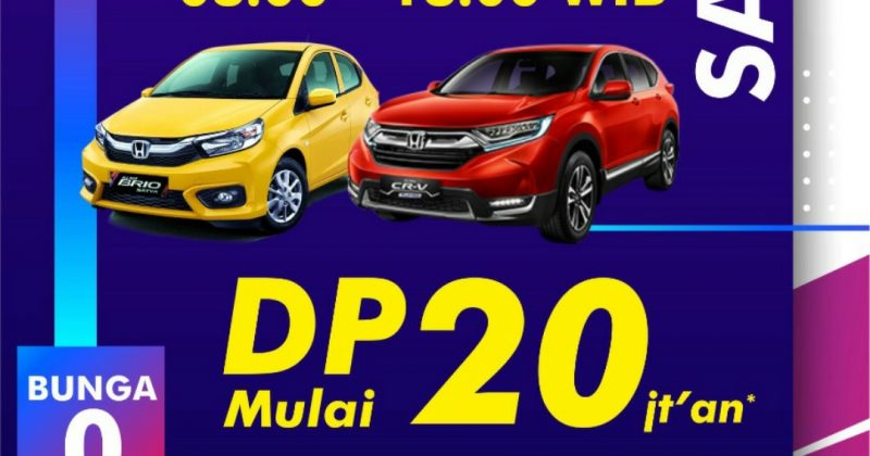 PROMO HONDA WEEKEND SALE